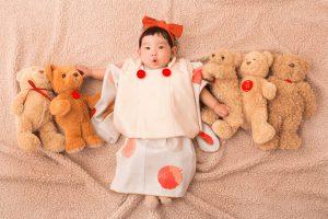 【函館店】最新Babyコレクション!オリジナル着物『プチ』新ビジュアル公開☆【アップル】