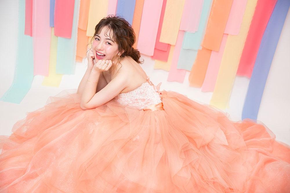 札幌で撮れるドレス成人写真