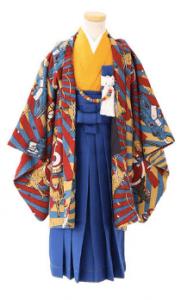 3.5歳男の子羽織袴
