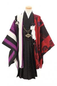 4.3歳男の子羽織袴