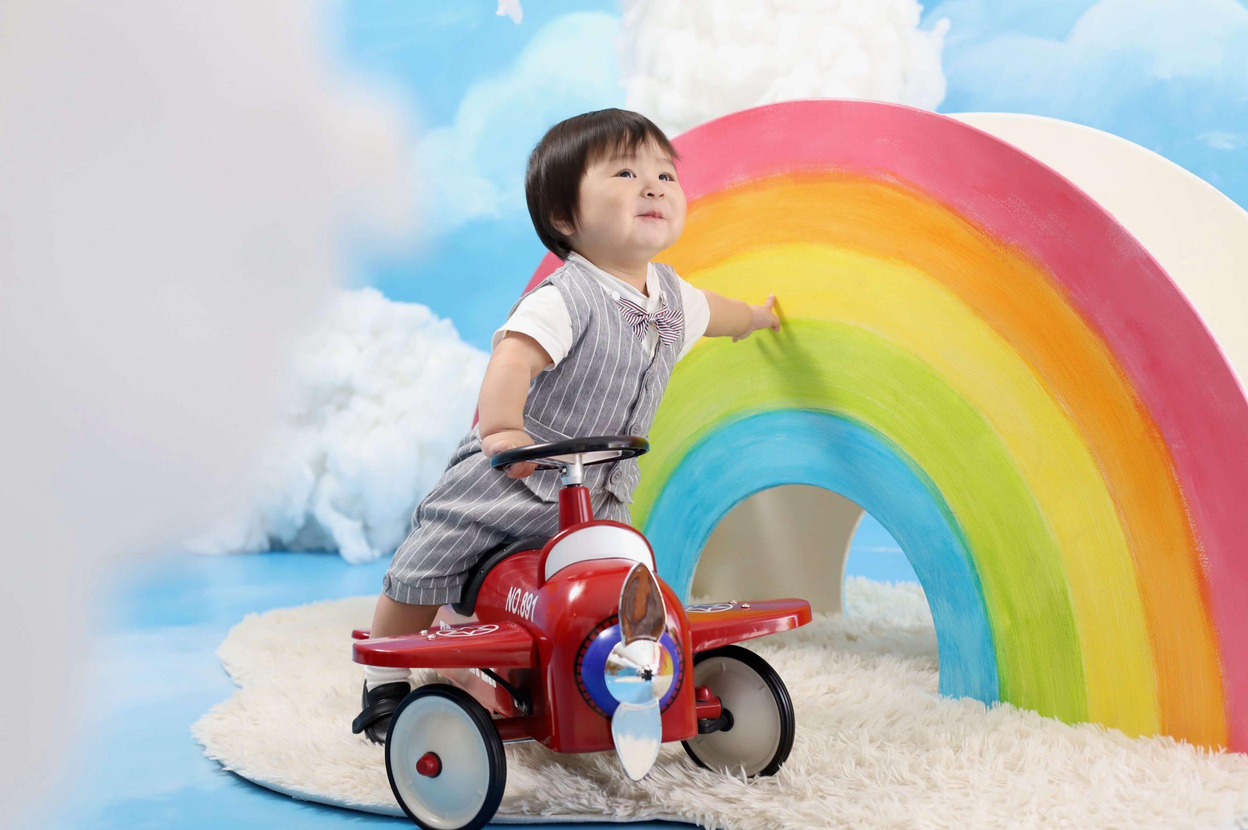 1歳記念でお越しの「みなとくん」のお写真紹介!