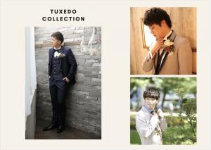 新郎衣装にもこだわりアリ!フォトウェディングをするなら、豊富な衣装数とトレンドデザインが揃った札幌中央店へ.*