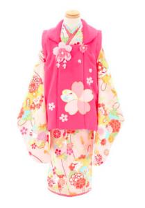 函館北斗店の3歳女の子着物人気ナンバー2