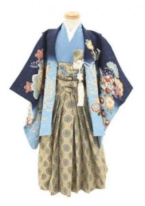 5.3歳男の子羽織袴
