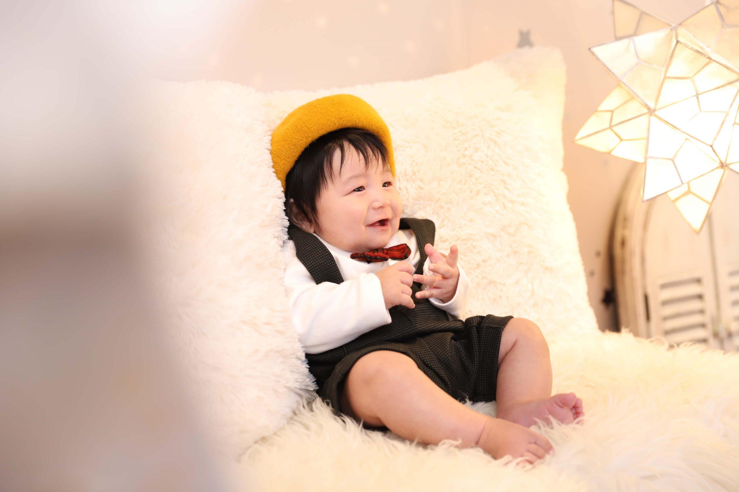 100日記念でお越しの「しょうまくん」のお写真紹介!