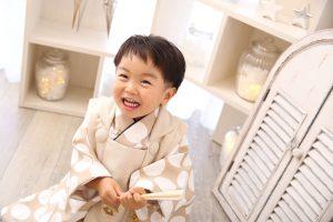 七五三記念でお越しの「しゆうくん」のお写真紹介!