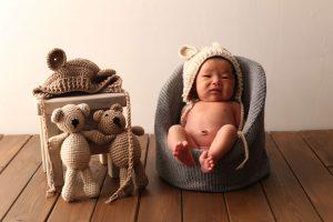 *お客様紹介*撮影に来てくれた新生児さん@写真工房ぱれっと函館店