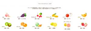ぱれっとベビーフォトフルーツコレクション