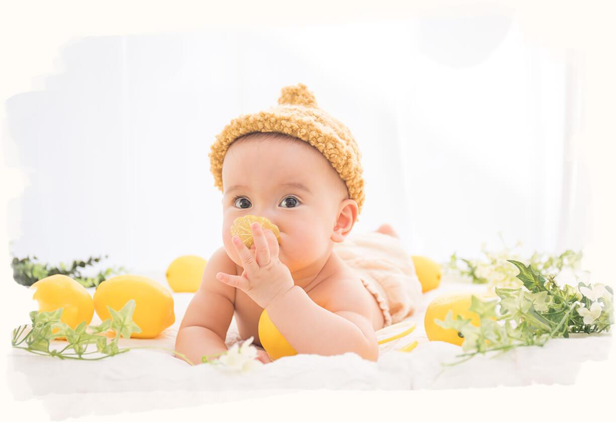 レモン×赤ちゃん