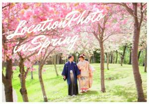人気の桜ロケーションはまだ間に合う!お花見ウェディングフォトおすすめSPOTをご紹介.*
