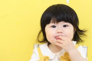 つむぎちゃん『百日→→1歳』大きくなったね!【Fuwafuwa*Paletteスタジオ】