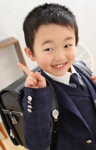 卒園&入学記念の撮影に来てくれた☆はるとくん☆【函館北斗店】