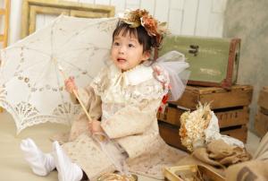 【サッポロファクトリー店】七五三でお越しの「みおりちゃん」のお写真紹介!