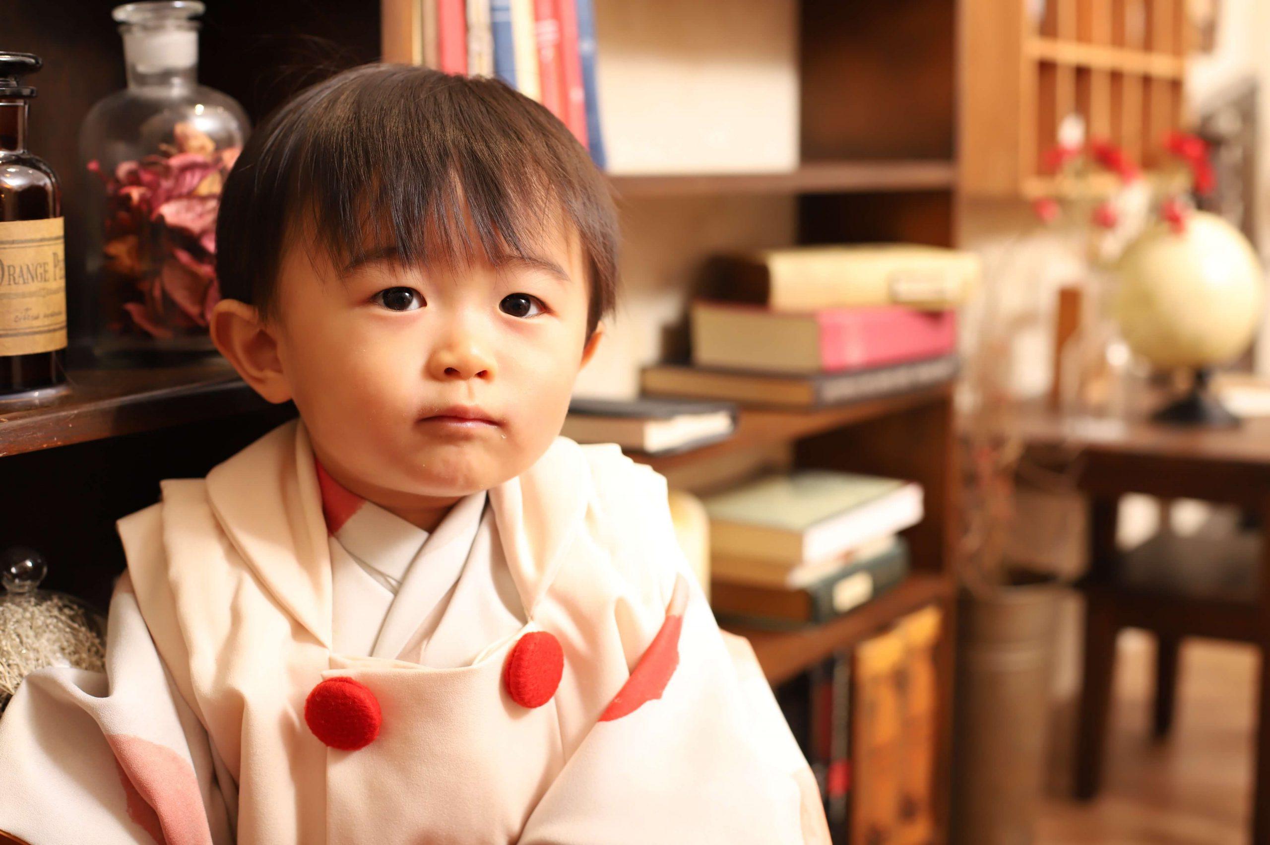 1歳記念でお越しの「あおとくん」のお写真紹介!