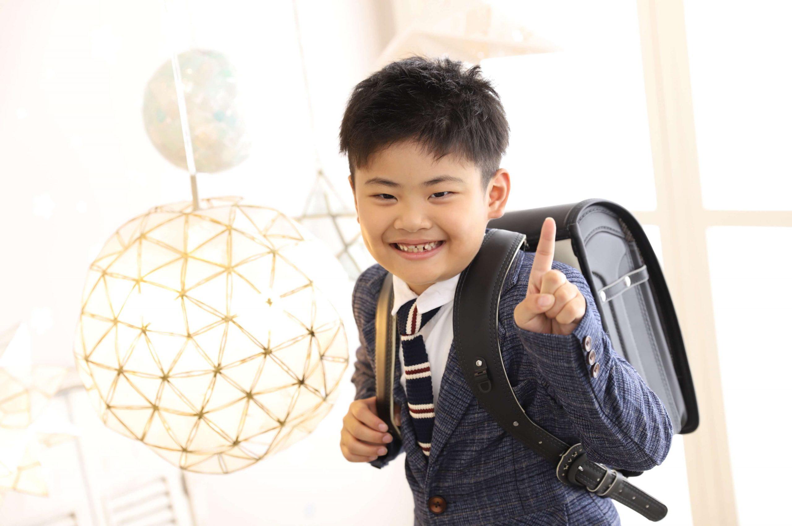 入学記念でお越しの「あつとくん」のお写真紹介!