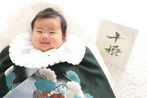 100日記念でお越しの「じゅうとくん」のお写真紹介!