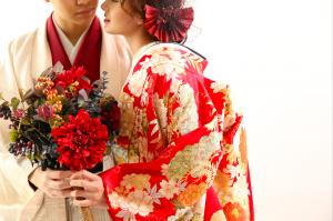 【サッポロファクトリー店】今回は新作色打掛の実際の着用画像をご紹介致します!