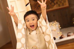 七五三記念でお越しの「いおりくん」のお写真紹介!