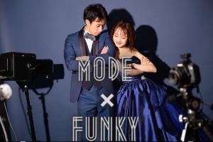 【ファクトリー店】ブライダルNewビジュアル登場!!〝MODE×FUNKY〟 Blue ver.登場!