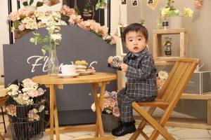 1歳お誕生日記念の撮影でお越しの「こうだいくん」のお写真紹介!