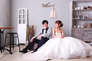 【お客様紹介】貸切プラン:白ドレス