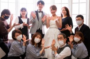 【お客様紹介】貸切プラン:白ドレスLAST
