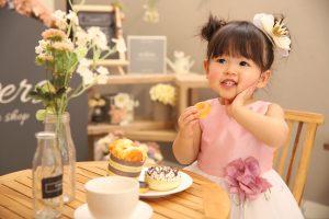 2歳記念でお越しの「こはるちゃん」のお写真紹介!