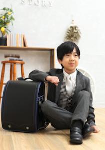 入学記念の撮影に来てくれた☆はるくん☆をご紹介♪【函館北斗店】