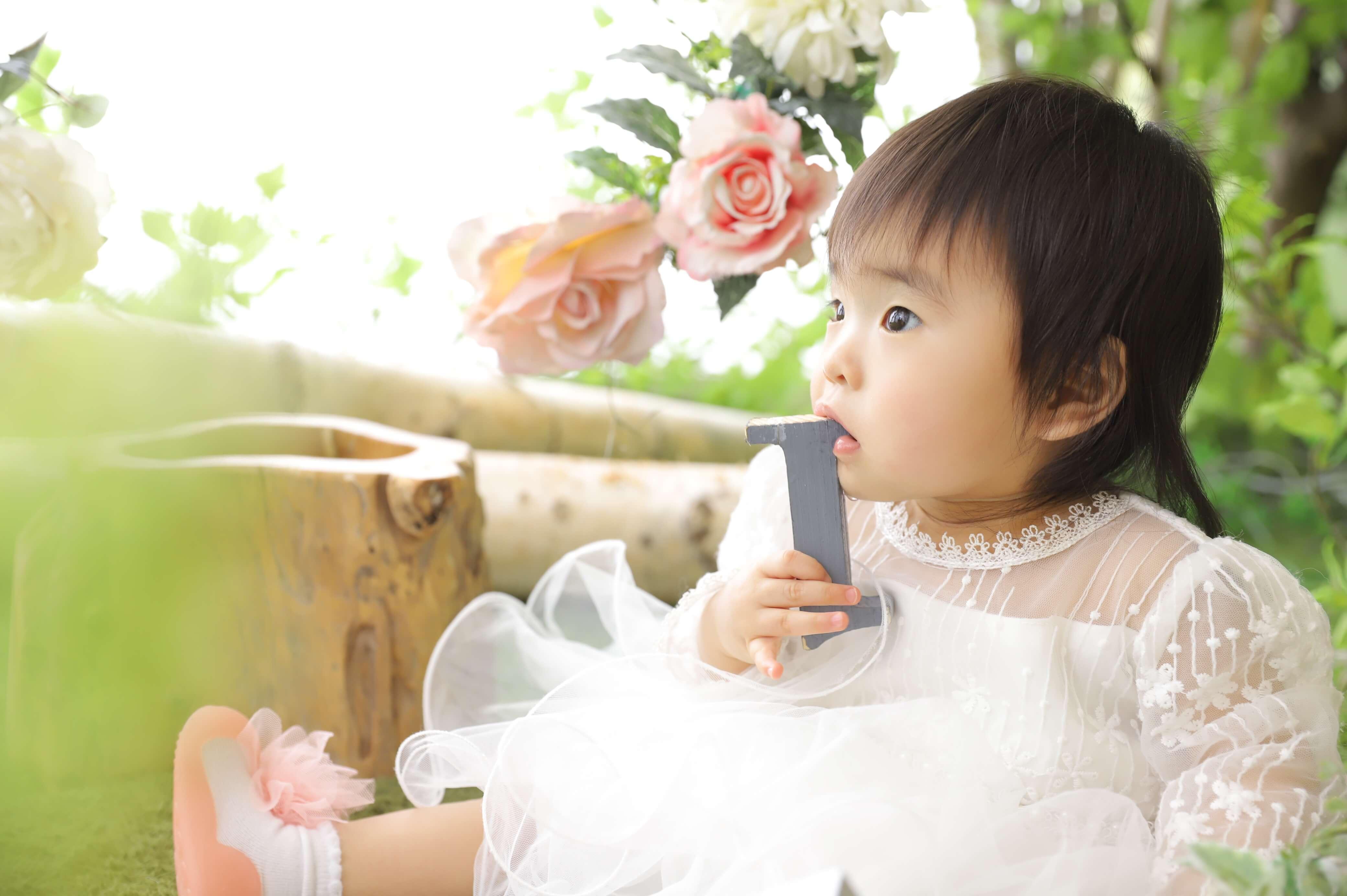 1歳記念でお越しの「こずえちゃん」のお写真紹介!