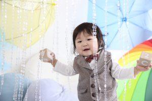1歳記念でお越しの「あいとくん」のお写真紹介!