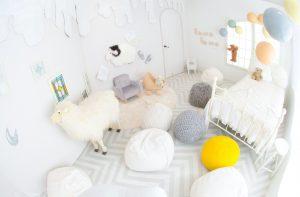 札幌東店スタジオ紹介☆ホワイト基調の子供部屋《Fuwafuwaスタジオ》編