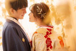 和装フォトウェディングは大人気の札幌中央店限定[オリジナル着物]で決まり!!