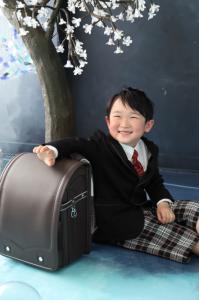 KIRAKIRAスタジオ☆入学記念でお越しの「まさはるくん」のお写真ご紹介!