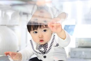 【帯広店】お客様紹介☆帯広店で1歳のお誕生日記念を撮影された「りおくん」の紹介☆