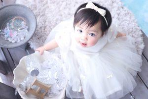 【札幌東店】ベビー新作衣装☆第二弾【パフスリーブリボンドレス】