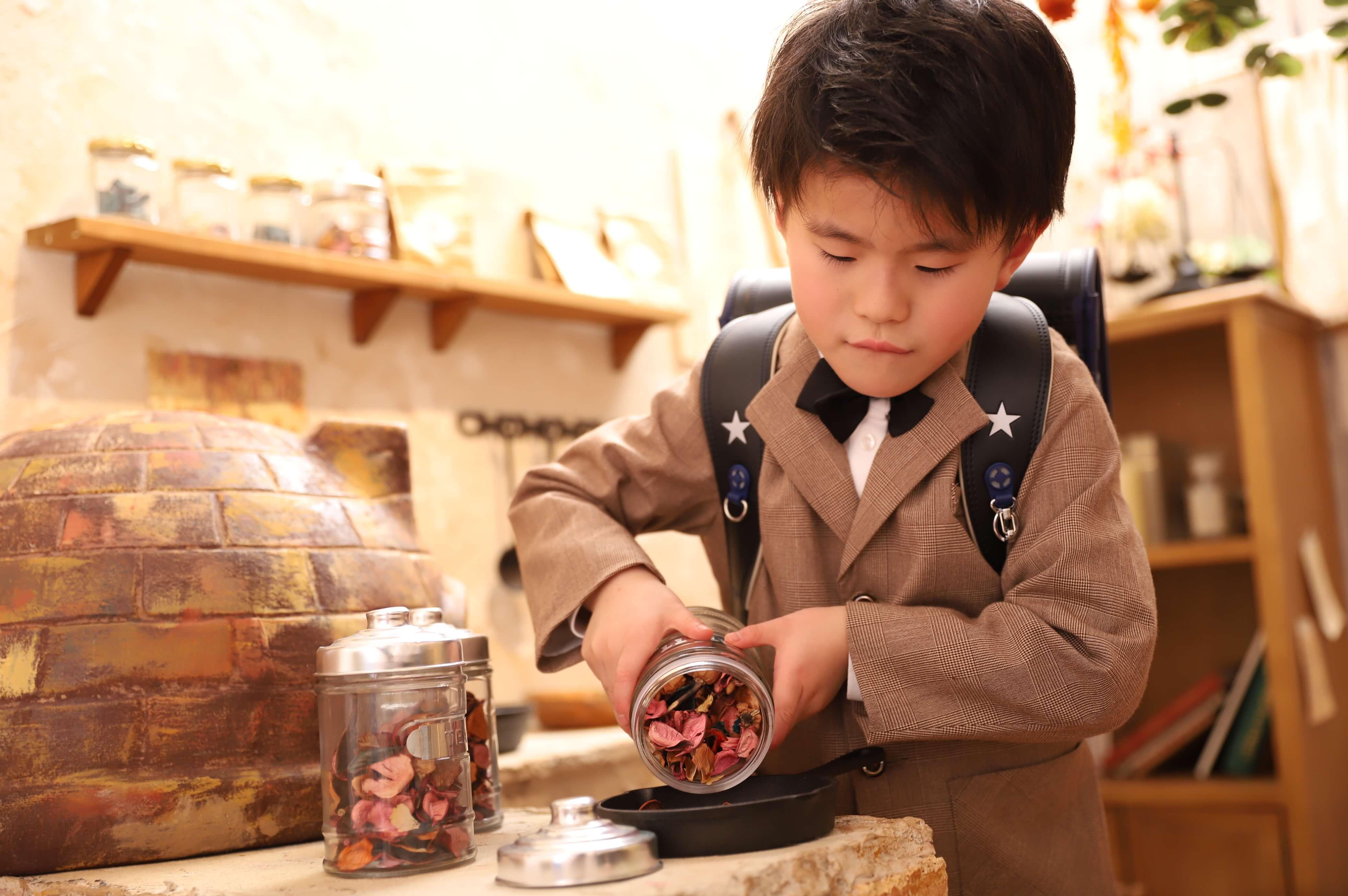 入学記念でお越しの「るいとくん」のお写真紹介!