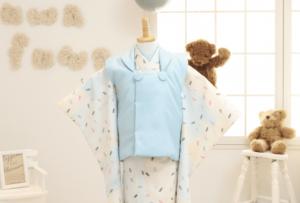 〈札幌東店〉七五三オリジナル着物⦅アイス⦆