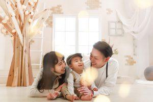 【旭川店】ファミリーフォトプラン♡全カットデータで残せる家族記念写真の新プラン!