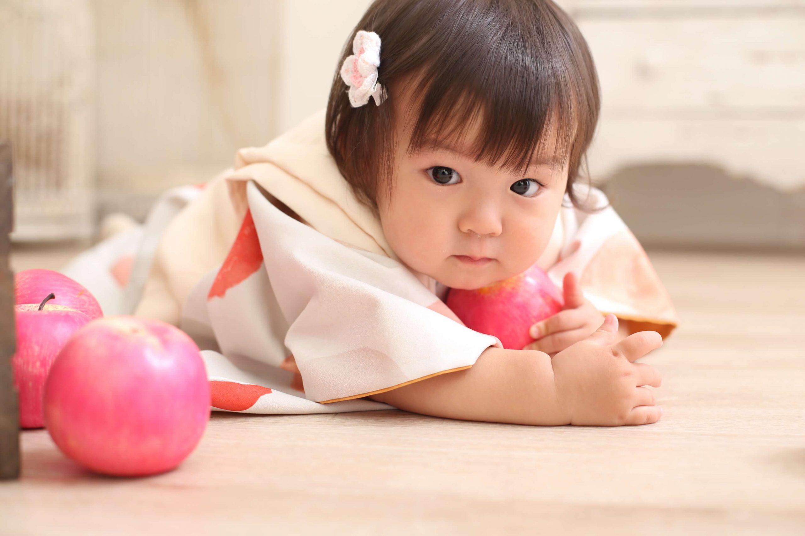 *お客様紹介*1歳記念で来てくれたまなちゃんのご紹介!@ぱれっと函館店