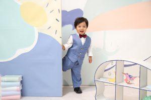 「Palette」スタジオ☆七五三記念でお越しの「そうすけくん」のお写真をご紹介!