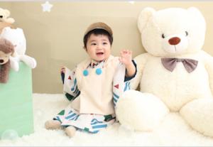 1歳記念の撮影に来てくれた☆かなとくん☆のご紹介♪【函館北斗店】