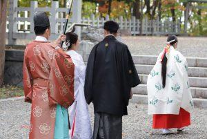 上川神社での挙式撮影をご紹介